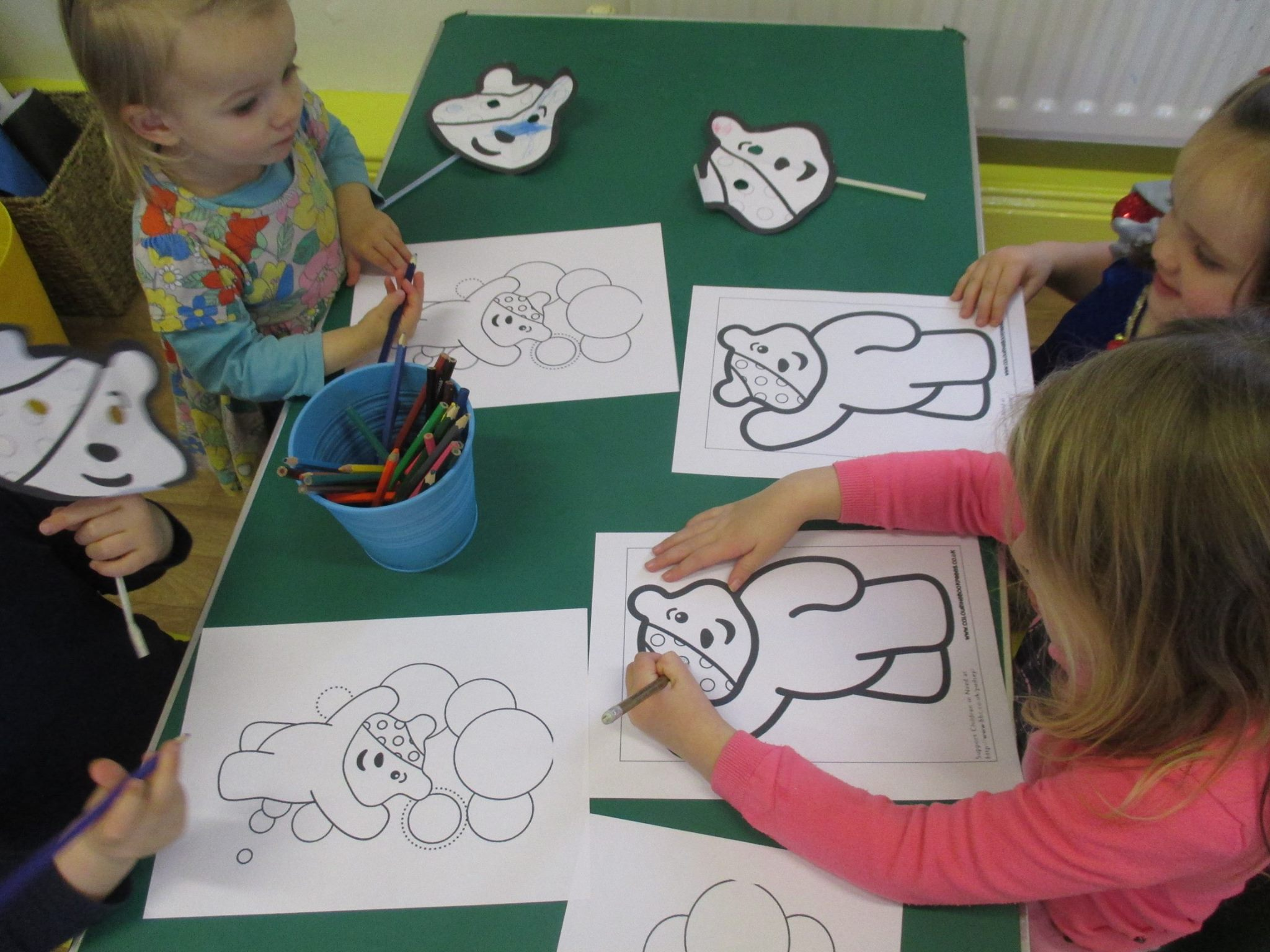 Stepping Stones Nursery Durham - Children in Need